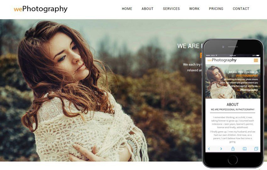 Photographer - w3layouts.com