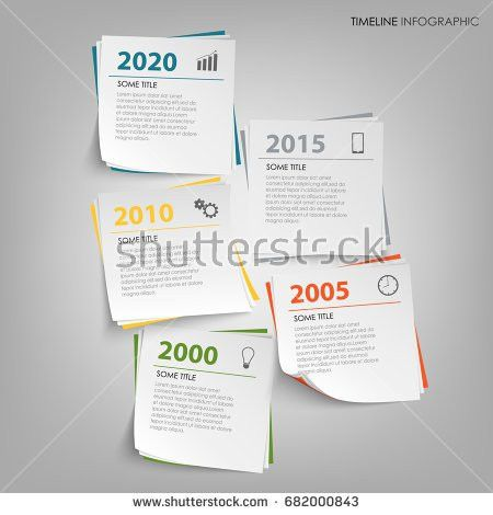 Note Paper Push Colored Pin Template Stock Vector 242567146 ...