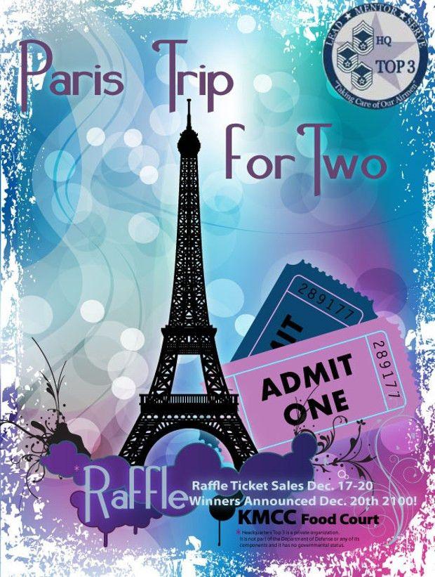 Raffle Flyer Template - Contegri.com