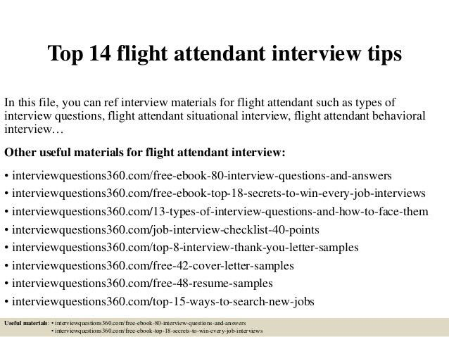 Flight Attendant Resume. Free Resume Template 14+ Corporate Flight ...