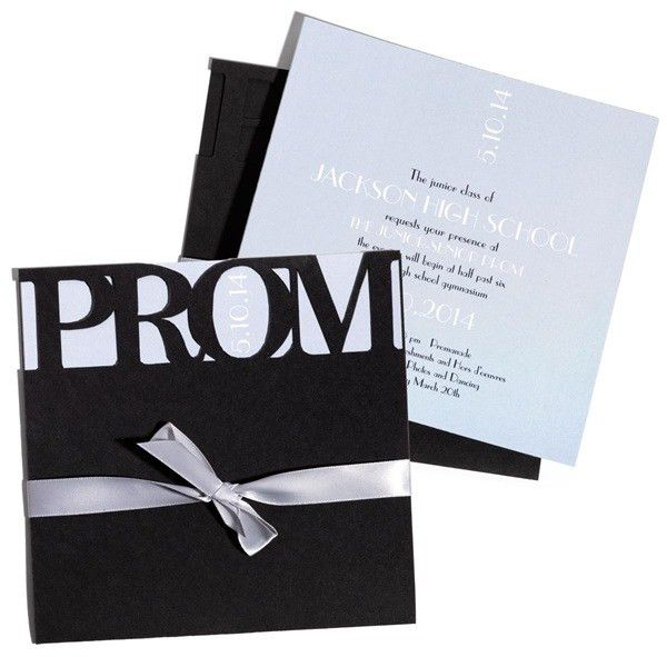 7 Tips for Creating Amazing #Prom Invitations. #PromInvitations ...