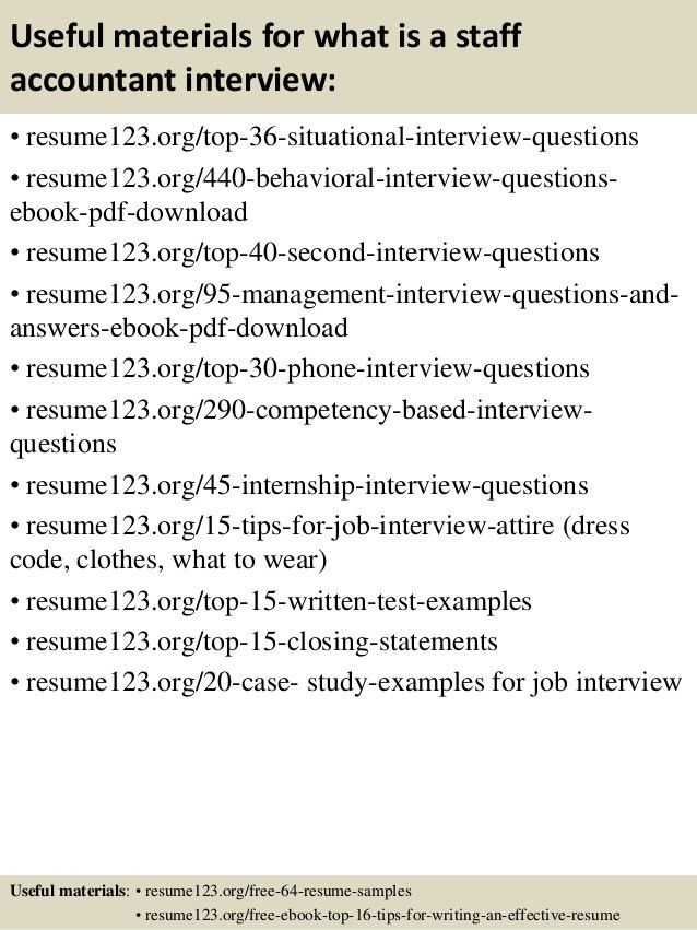 Top 8 what is a staff accountant resume samples
