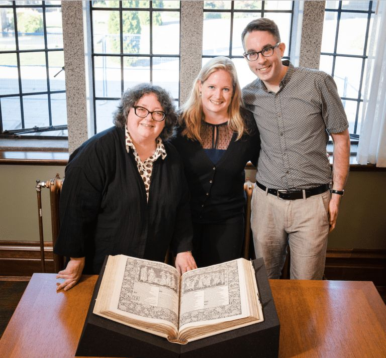 UBC Library acquires a copy of the Kelmscott Chaucer | About UBC ...