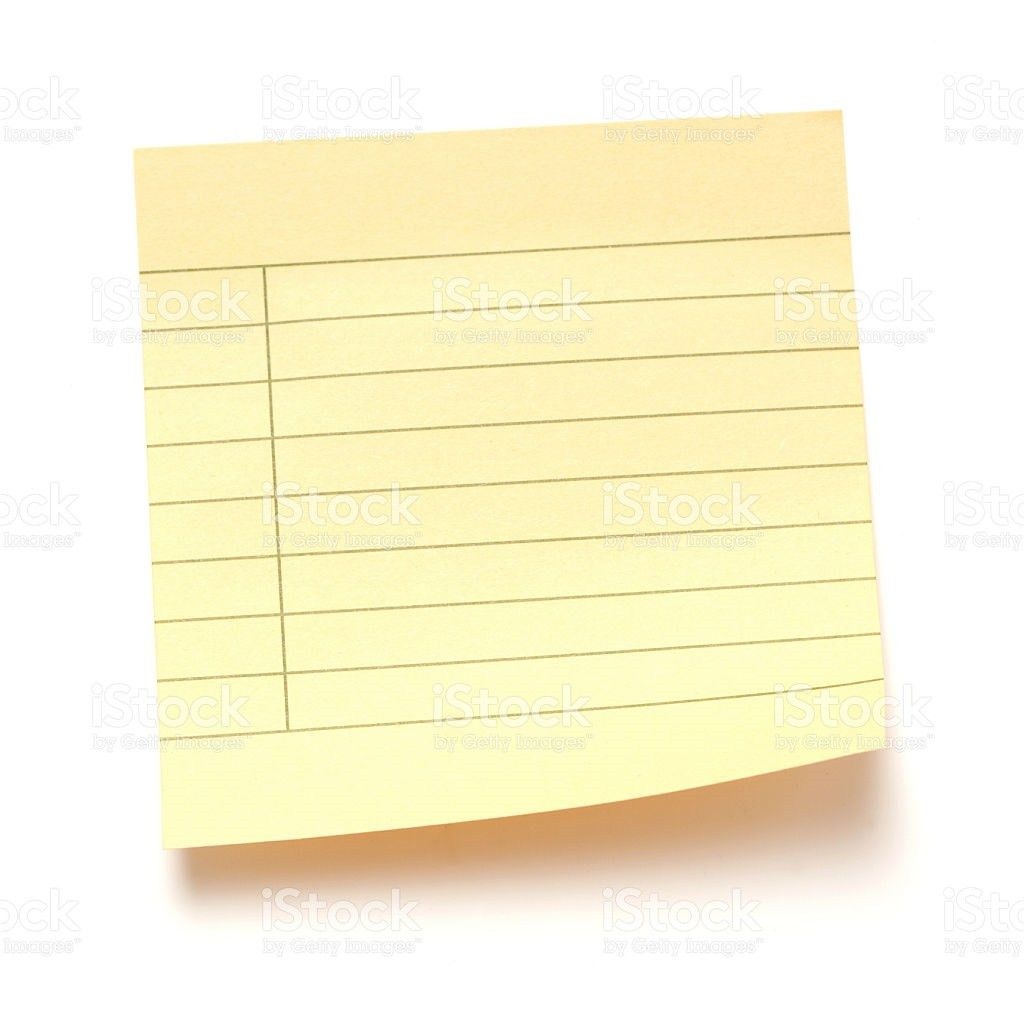 Yellow Lined Paper Pictures, Images and Stock Photos - iStock
