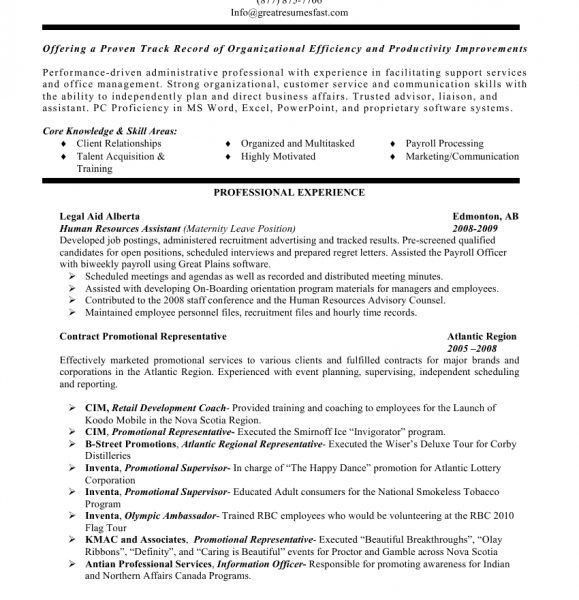 General Resume, 28+ [ general business resume objective ...
