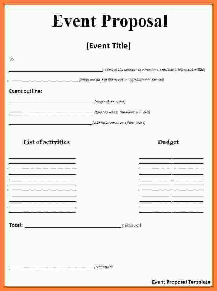 10+ event proposal template doc | Bussines Proposal 2017