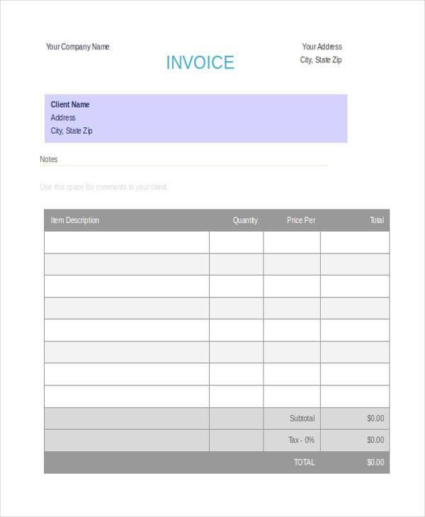 5+ Deposit Invoice Templates - Free Sample, Example, Format Download