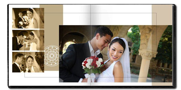 Decorative Wedding Album Designs | arc4Studio