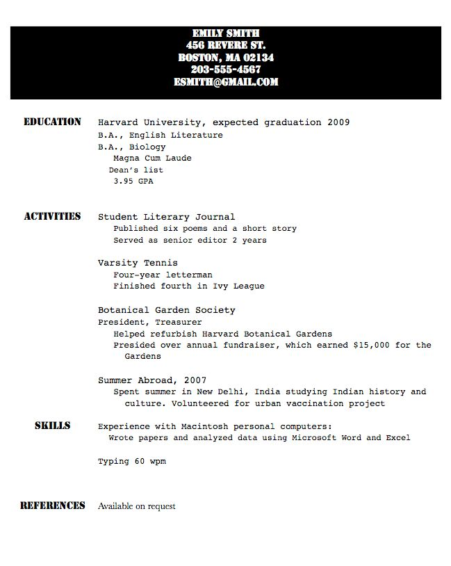 Casual Fridays: What's worse — an ugly resume, or one filled with ...