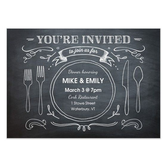 Dinner Party Invitations - Pingg.com