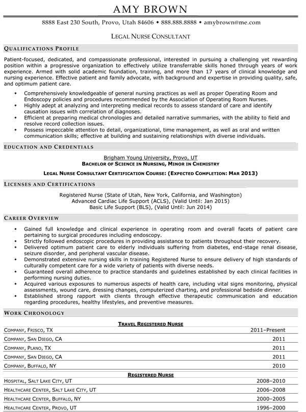 Medical Resume Examples - Resume Professional Writers