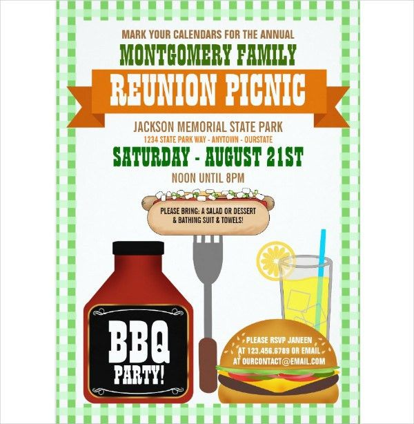 19+ Family Reunion Invitation Templates - Free & Premium Download