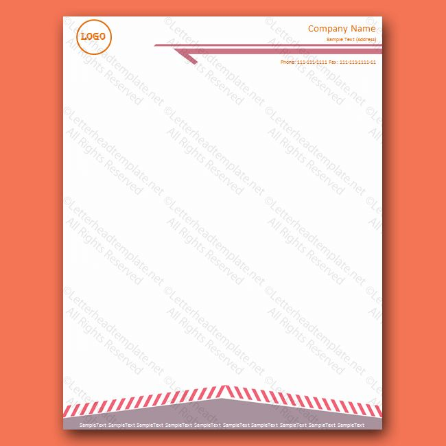 printable letterhead template - Free Letterhead Templates