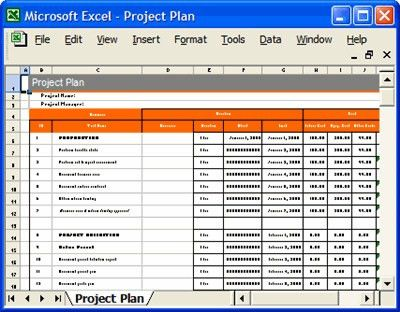 Project Plan Templates, Excel spreadsheets | How to create a… | Flickr