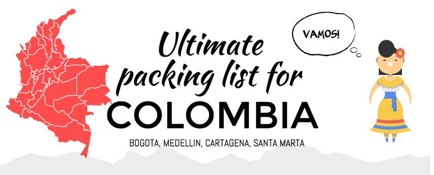 Ultimate Packing List for Colombia | Denia Hania travel blog