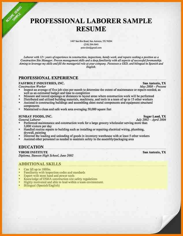 Sample Resume Skills Section How To Write A Resume Skills Section - Computer skills on resume