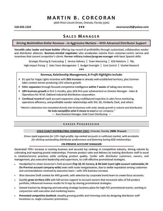 resume format sales executive sales executive cv template example
