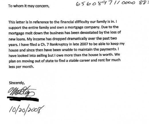 Hardship Letter for Short Sales | ToughNickel