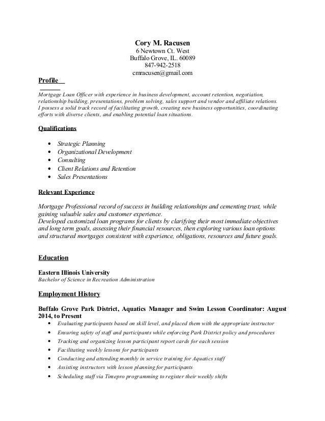 Job Description Of A Loan Officer Mortgage Loan Officer Job