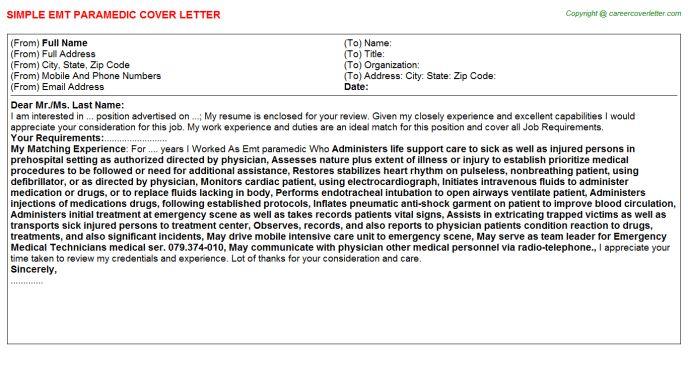 Emt Paramedic Job Title Docs