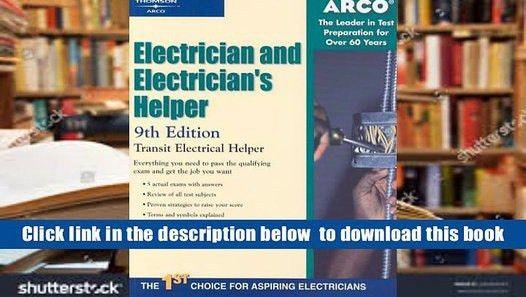 FREE [DOWNLOAD] Electr-Electrician S Helper 9e (Arco Electrician ...