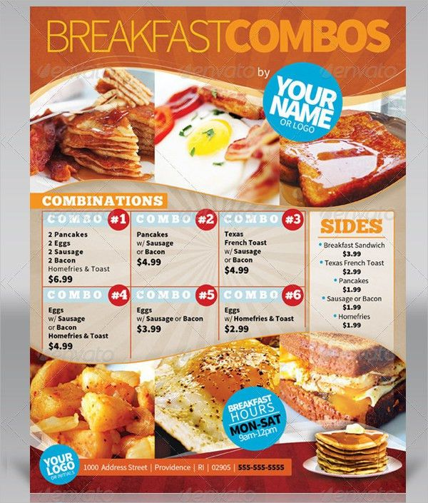 Breakfast Menu Templates - 17+ Free PSD, Ai, EPS, Vector Format ...