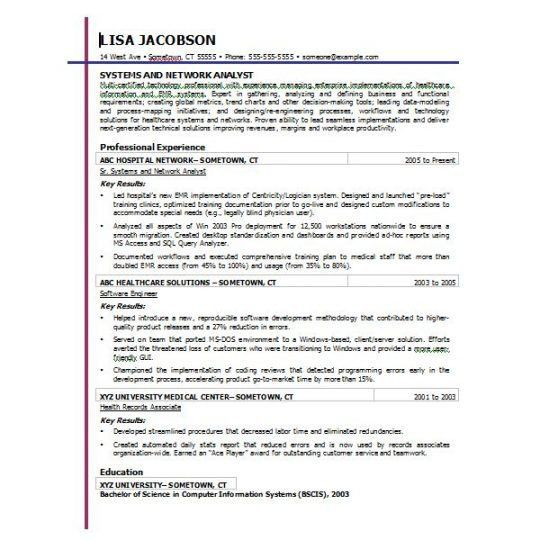 Resume Examples: Resume Templates Microsoft Word 2007 Free ...