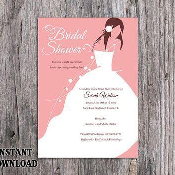 Best Bridal Shower Invitation Templates Products on Wanelo