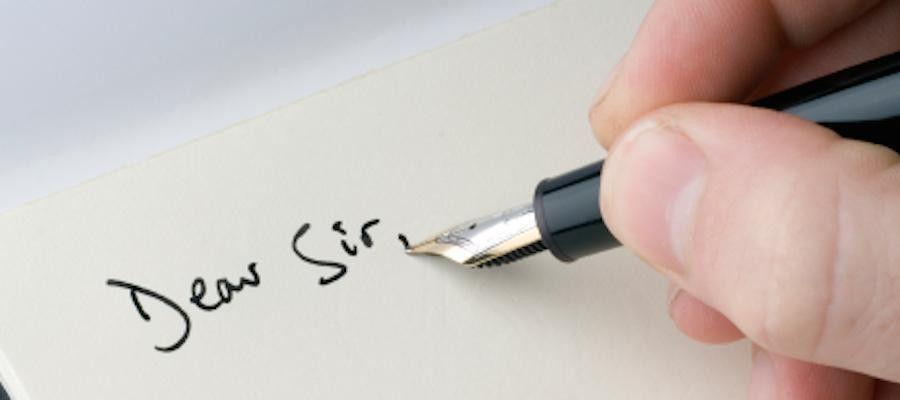 Writing a formal letter | ESOL Nexus