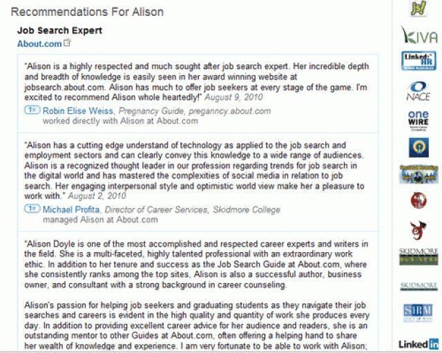 7+ linkedin recommendation examples - LetterHead Template Sample