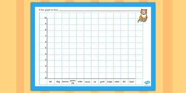Class Pets Bar Graph Template - class pets bar graph template