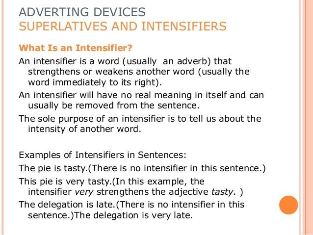 Response writing. advertsing devices ppt