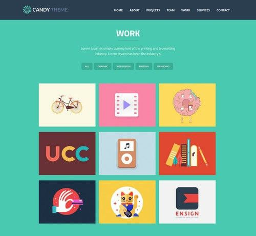 30+ Creative Portfolio Website Templates