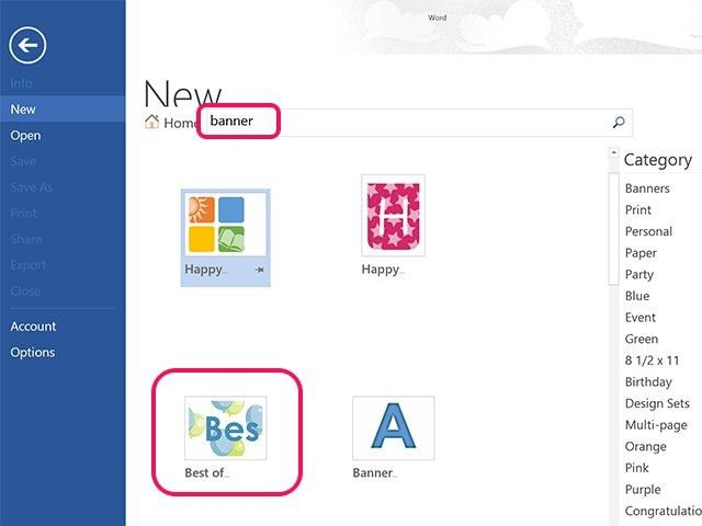 How To Create A Banner In Word | Best Business Template