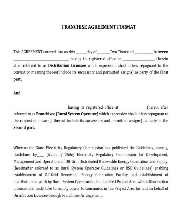 16+ Agreement Templates - Free Sample, Example, Format | Free ...
