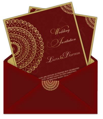 Beautiful Designer Indian Wedding Invitation Cards 78 For Your ...