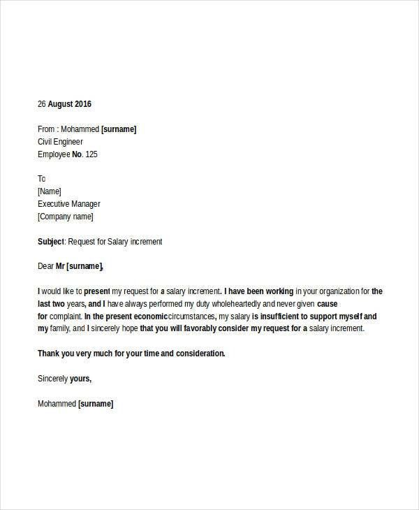38+ Free Request Letter Templates | Free & Premium Templates