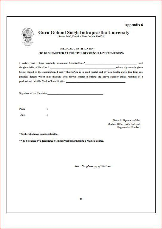 Medical Certificate Form. Free Download Doctor Medical Certificate ...