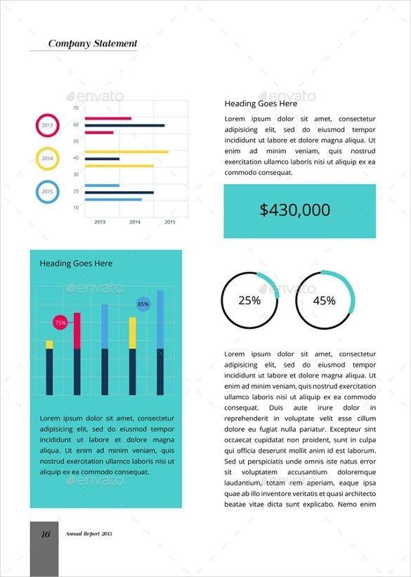 Annual Report Template Word | Template idea