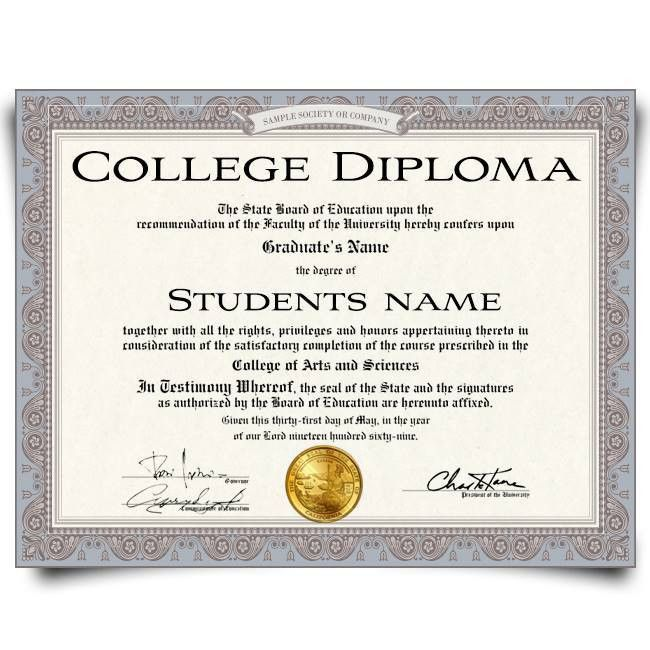 Buy Fake Diplomas - Realistic Degree Designs - Best Phony Quality ...