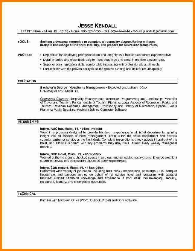 Resume Objective For Internship, best 20+ resume objective ideas ...