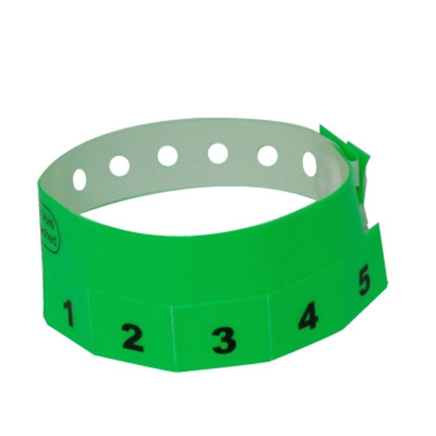 Wristbands - Tear-off Tab | by FreshTix Ticket Printing