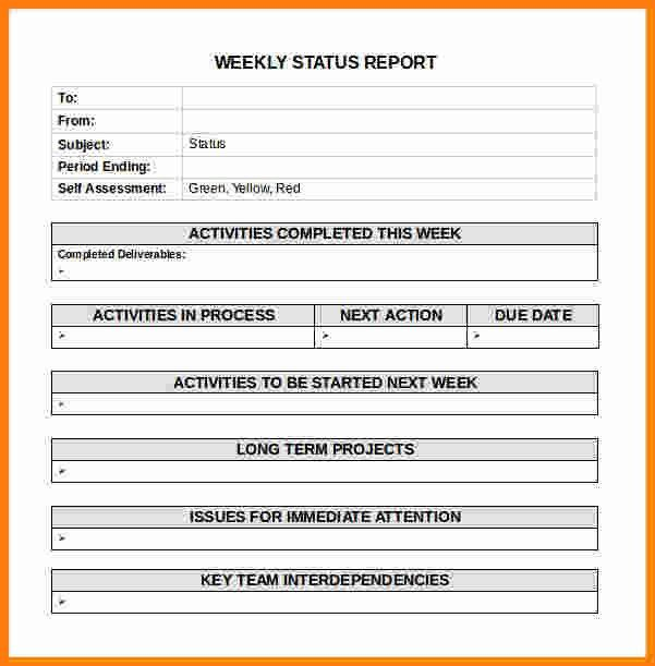 Sample Weekly Report. Weekly Project Status Report Sample   Google .