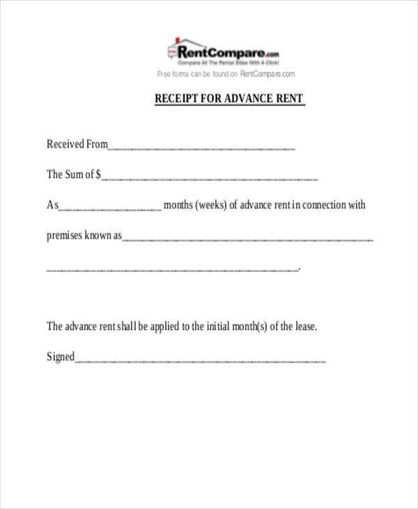 20+ Receipt Formats | Free & Premium Templates