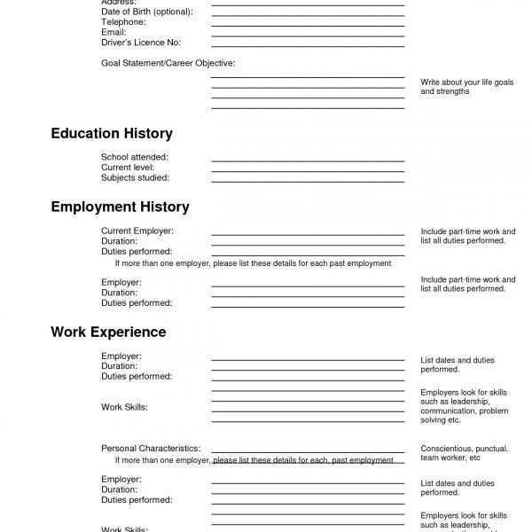 Ansprechend Free Resume Builder Printable Clerk Cover Letter Free ...