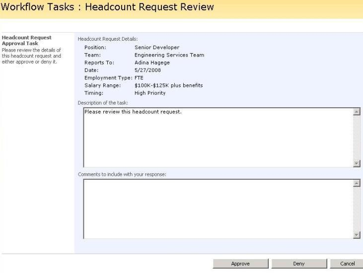 Developing Sequential Workflows for SharePoint Server 2007 Using ...