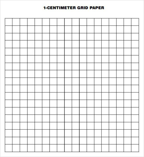 Sample Printable Grid Paper - 7+ Documents in PDF, PSD