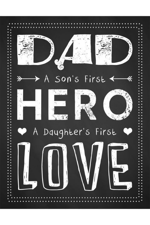 10 Free Printable Father's Day Cards - Cute Online Father's Day ...
