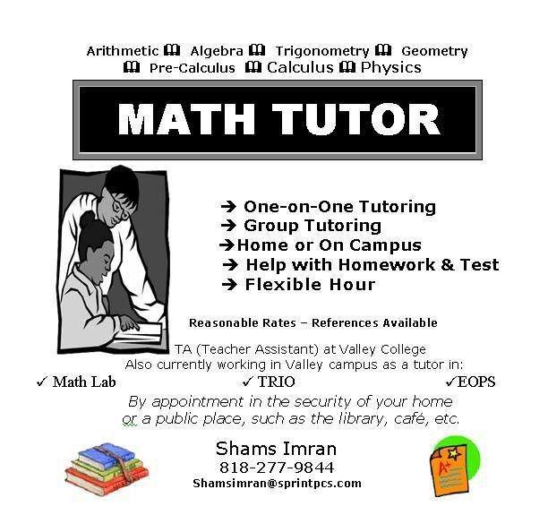 Flyers For Math Tutoring Flyer | www.gooflyers.com