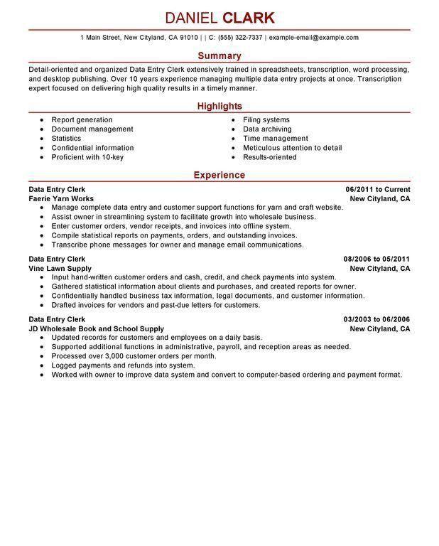 Fresh Ideas Resume Summary Examples Entry Level 5 Entry Level ...